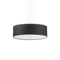 Люстра IDEAL LUX WOODY SP4 NERO