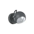 Настенный светильник IDEAL LUX ZENITH AP1 ANTRACITE