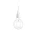 Подвесной светильник IDEAL LUX MINIMAL SP1 BIANCO