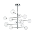 Люстра IDEAL LUX EQUINOXE SP12 CROMO