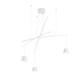 Люстра IDEAL LUX FISH SP3 BIANCO