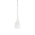 Подвесной светильник IDEAL LUX FLUT SP1 SMALL BIANCO