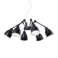 Люстра IDEAL LUX NEWTON SP6 NERO