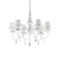 Люстра IDEAL LUX BLANCHE SP6 BIANCO