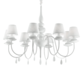 Люстра IDEAL LUX BLANCHE SP8 BIANCO