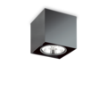 Люстра IDEAL LUX MOOD PL1 D15 SQUARE NERO