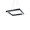 Люстра IDEAL LUX ORACLE D50 SQUARE NERO