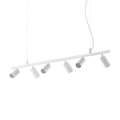 Люстра IDEAL LUX DYNAMITE SP6 BIANCO