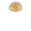 Люстра IDEAL LUX KING PL3 ORO