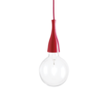 Люстра IDEAL LUX MINIMAL SP1 ROSSO